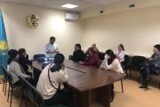 проведена встреча с населением для разъяснения системы ОСМС
