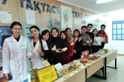 проведена благотворительная ярмарка «ЕАГИ – территория добра»