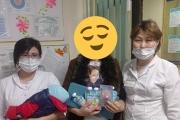 проводилась благотворительная помощь для поддержки многодетных семей с новорожденными детьми