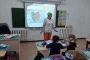 проведена лекция в школе-гимназии №28